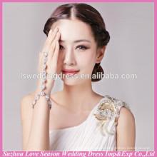 WS0008 gothic lolita palace party jewelry lace charm cuff bracelets wristband rings fashion bangle handchain bride jewelry