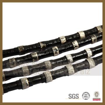 De Bonne Qualité Scie à fil de diamant de précision pour la carrière de granit