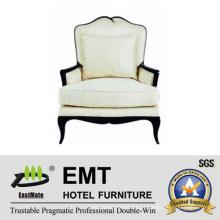 Sofá moderno blanco elegante del hotel del sofá (EMT-SF24)