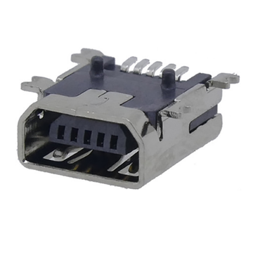 Mini USB 5P Receptacle SMT B Κοντό σώμα