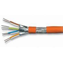 Cat7 cabos de par trançado para Internet Ethernet com jaqueta LSZH