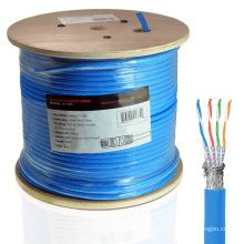 Cat7 cabo Ethernet em 1000FT baixa fumaça Zero Halógena Jacket