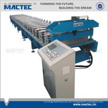 Gewölbte Metalldachfirstkappen-Rolle, die Maschine bildet