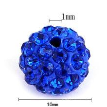 Yiwu Factory price cheap wholesale shamballa beads HB-1019