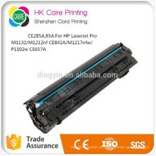 Precio de fábrica Compatible CE285A (85A) Cartucho de tóner para HP Laserjet PRO M1132 / M1212NF CE841A / M1217nfw / P1102W CE657A