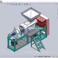 Lavage de plastique PE PP Film line compressé Squeezer sécheuse DKSJ-FC10