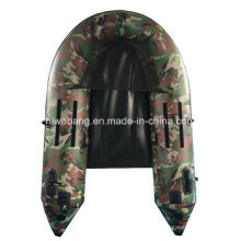 Military Green PVC Boat Inflatable Boat for Fishing
