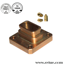 Cu de trituração de cobre das peças do ISO chapeado