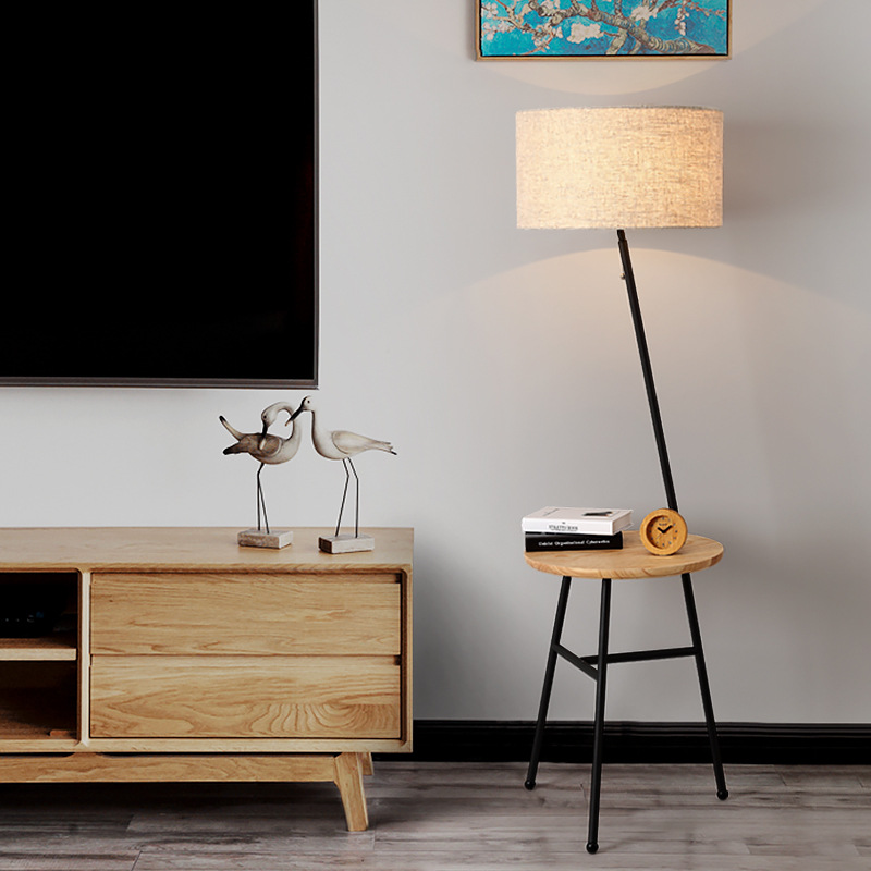 Application Black Floor Lamp