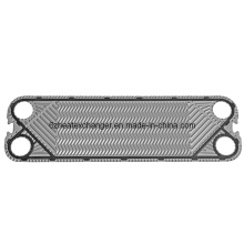 Placa de acero inoxidable para intercambiador de calor (puede reemplazar a Vicarb V45)