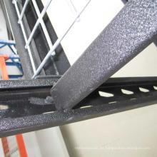 Bastidor industrial recubierto de polvo / estantería multicapa con cubierta de alambre