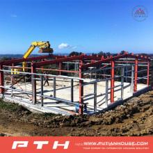 Proyecto de construcción de bodegas de estructura de acero prefabricado 2015