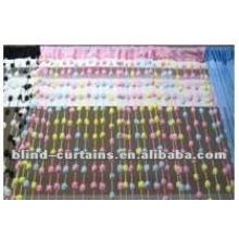 multicolor beads line curtain