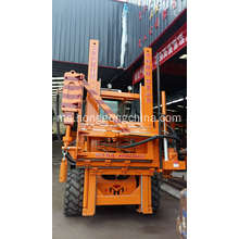 Lebuh Raya Guardrail Post Ramming Machine