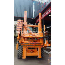 Snelweg Vangrail Post Ramming Machine