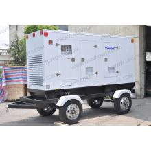 250kVA Gerador de reboque móvel Uc200e