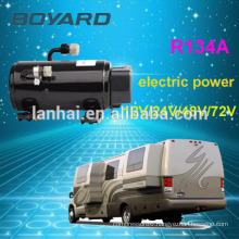 R134A boyard 12 volt refrigerator compressor dc airconditioning for battery powered air conditioner