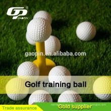 Pelota de golf blanco palstice con total para entrenamiento