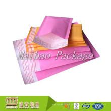 Atacado Barato Personalizado A2 A3 A4 A5 Colorido Pastagem De Envio Saco Jiffy / Bubble Mailer Acolchoado Envelopes Tamanhos