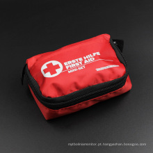 Sacos de kit de primeiros socorros com suprimentos médicos