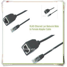 High Quality RJ45 Adapter Male to Female Cable Ethernet Lan Network Adapter Cable