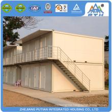 2nd floor modern modular prefab house