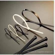 CE, SGS-zugelassene Nylonkabelbinder, selbstsichernde Nylonkabelbinder5 * 300