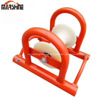 Straight Line Cable Pulley Wheel Aluminum Cable Roller