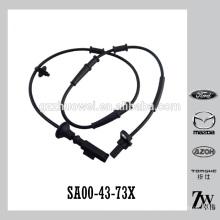 Nova chegada auto roda dianteira ABS sensor ABS fio SA00-43-73X para Mazda Haima 484Q