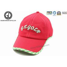 Chapeau de golf sportif résistant au soleil personnalisé coloré