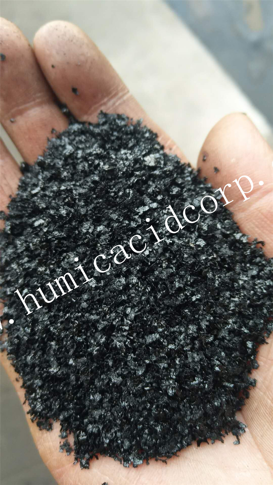 Super Potassium Humate big Flakes