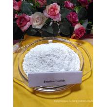Анатаз диоксид титана используется в качестве агента вымирания для текстильной и химической промышленности волокна