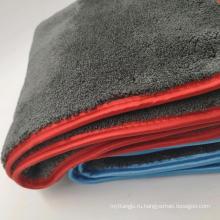 1200gsm серый цвет автомобиля microfiber полотенца полировки детализация полотенца стирать