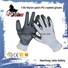 13G Gary Lind Palm Schwarz PU Coated Labor Handschuh