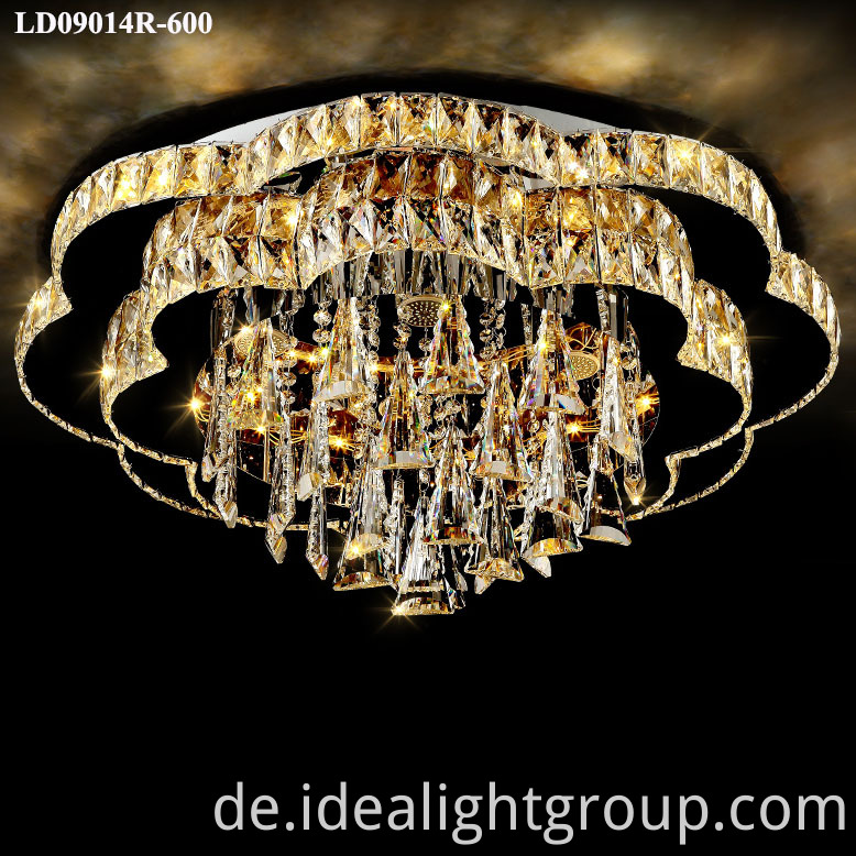 crystal lighting modern