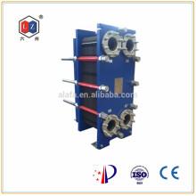 China Plattenwärmetauscher Wasser-zu-Öl-Kühler Hersteller (M10M)