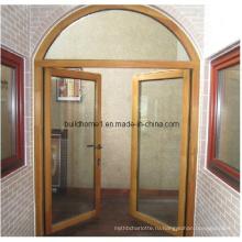 Самые продаваемые деревянные алюминиевые двери