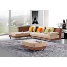 Wholesale color matching living room velvet sofa set KW9042