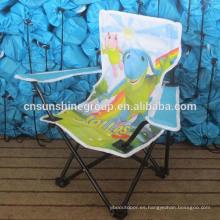 Alta calidad plegable de la historieta embroma la silla