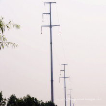 110 kV Linear Power Transmission Steel Pole