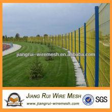 pvc coated flower border fence