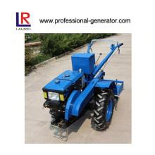 9.7kw trator de duas rodas Tractor de passeio com Gear Drive