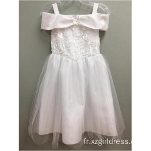 robe princesse blanche à la mode