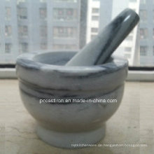 Marmor Stein Mörser und Pestles Hersteller aus China Größe 14X10cm