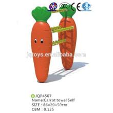Tipo toallas de zanahoria