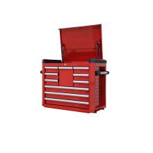 Coffre à outils à 10 tiroirs avec glissières à roulement à billes
