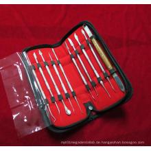 Dental Lab Kit Wax Carving Werkzeug Set