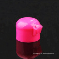 Tapa de tapa de plástico color rosa 24/410