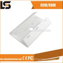Suporte de alumínio de cor branca para câmera de segurança CCTV