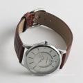 Fashion quartz men watches import watch movement, stainless steel back watch